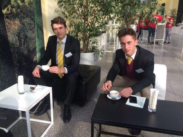 POM1Max Lahrmann und Valentin Schmid VBS Mödling